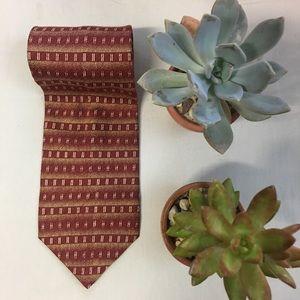 Structure Silk Tie